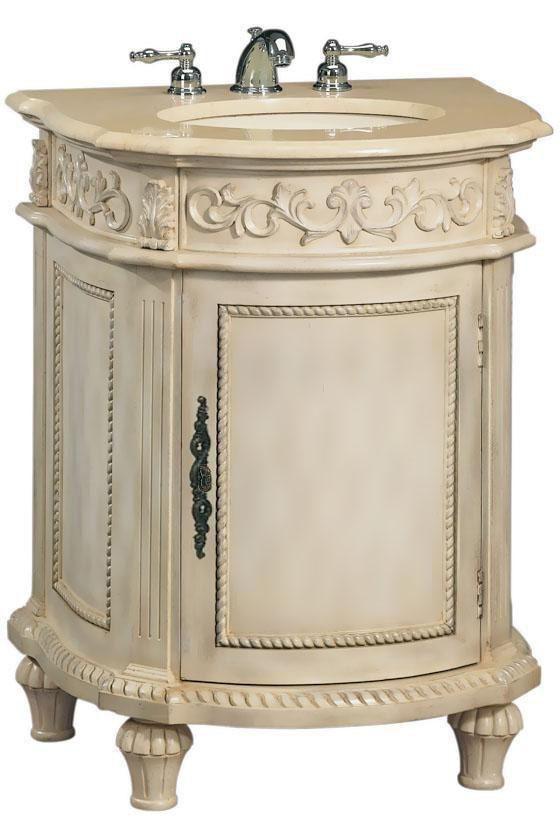 Best Photo Gallery For Website Guest Bath Chelsea Inch Antique Ivory Bathroom Vanity With Cream Granite Top