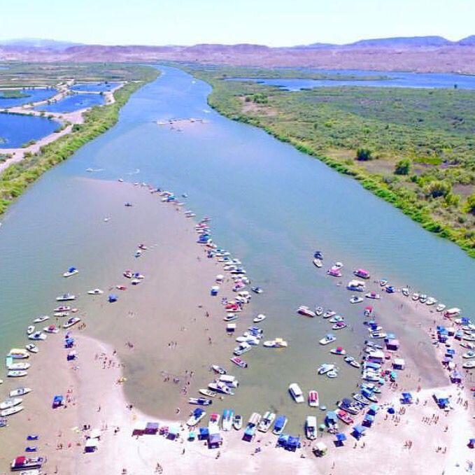 Denver Kayaking: Sand Bar In The Colorado River, North Of Yuma