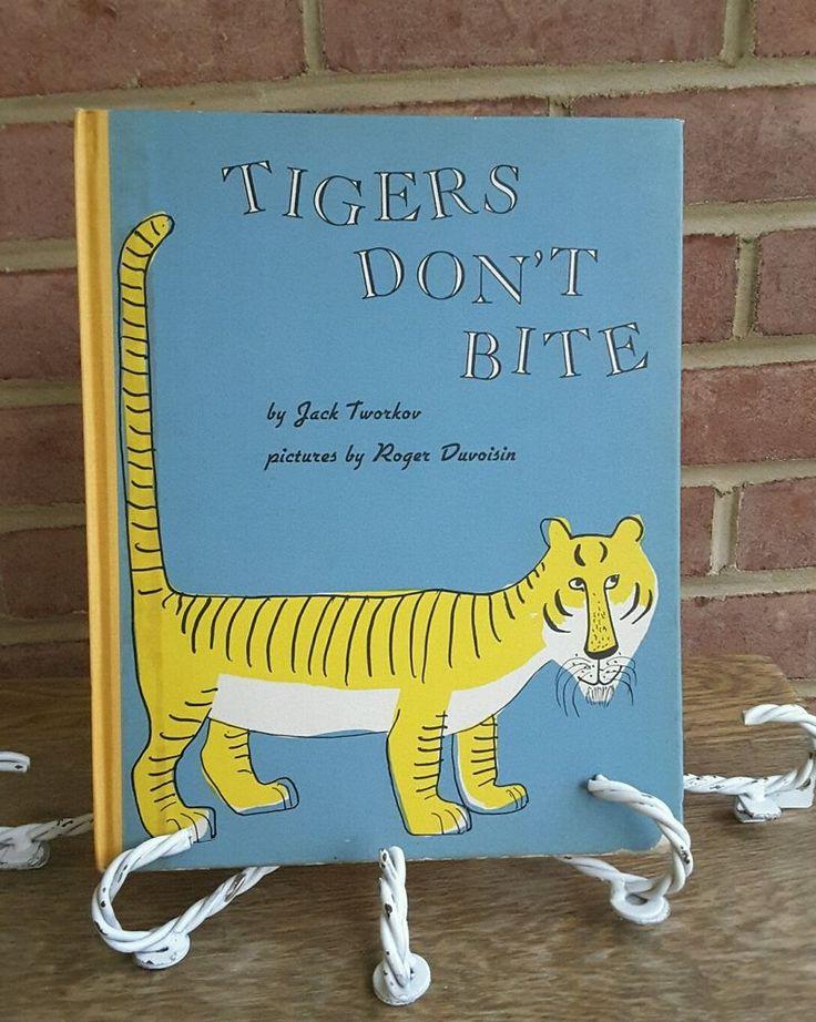 Tworkov: Tigers Don't Bite,1957 2nd printing 1957 Hardcover Roger Duvoisin