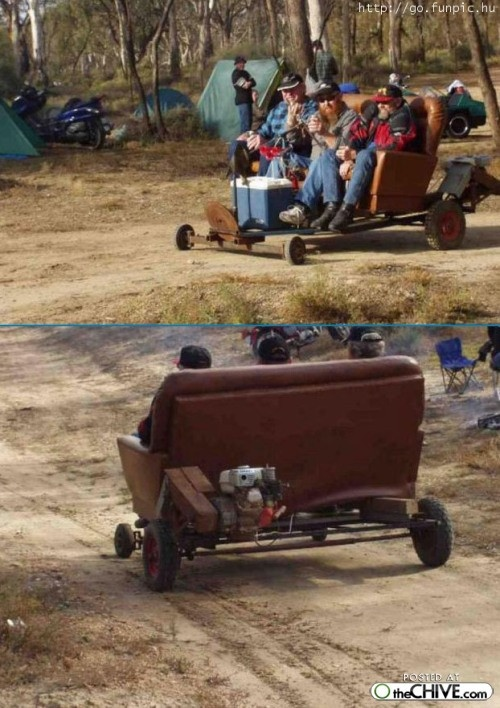 redneck gocarts are so fun that you you can drive drunk on them