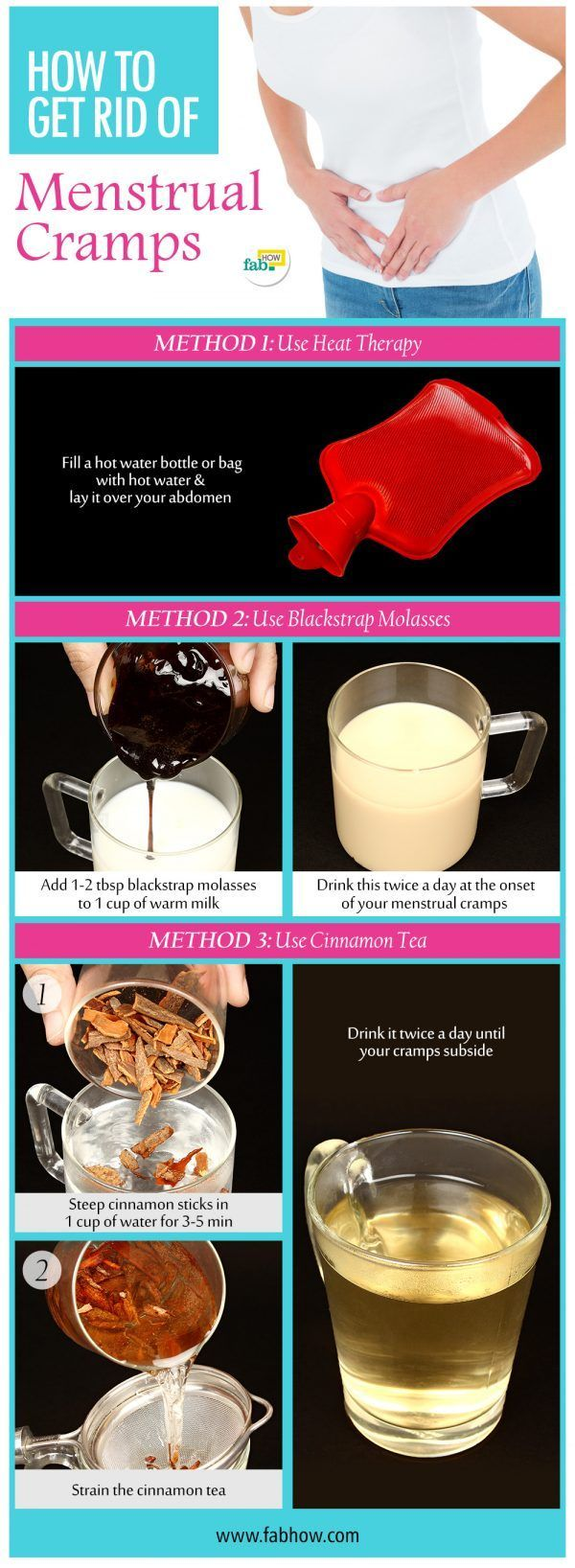 Home Remedies to Get Rid of Really Bad Menstrual Cramps Fast and Naturally