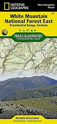 NATIONAL GEOGRAPHIC MAPS - TRAILS ILLUSTRATED - White Mountain ** Brand New **