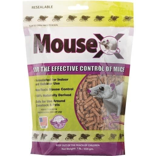 Ecoclear Products 1Lb Mouse-X Mice Control 620201 Unit: Each, Gardening