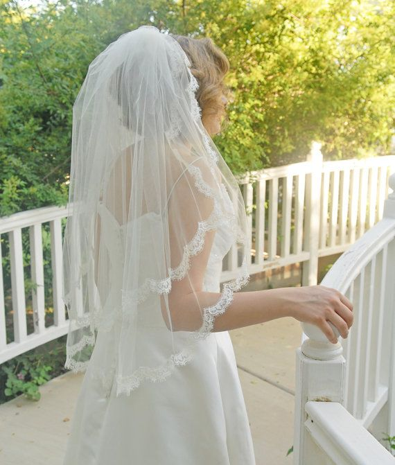 25+ Best Ideas About Short Wedding Veils On Pinterest