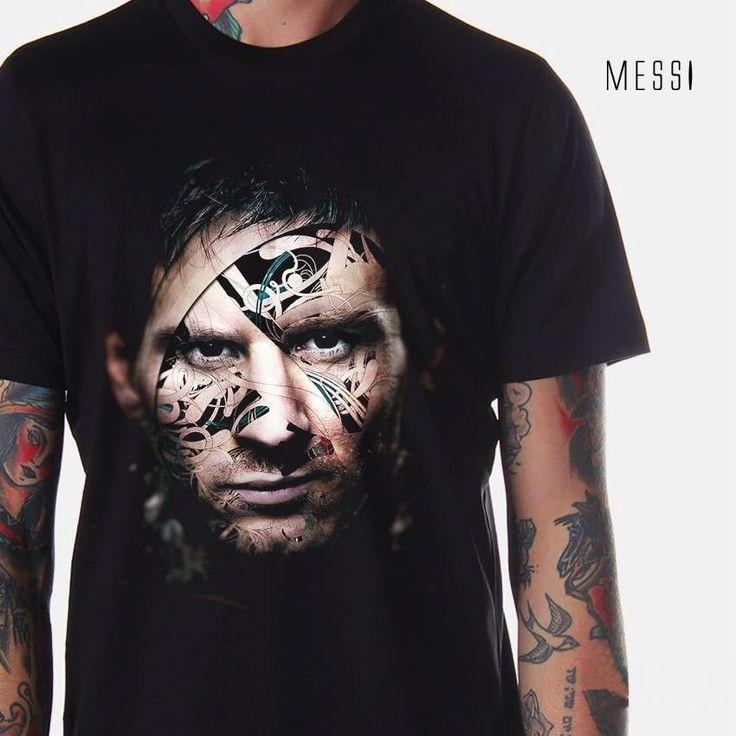 jual kaos gambar messi, lionel messi, messi 3d t-shirt, kaos 3d barca messi, barcelona