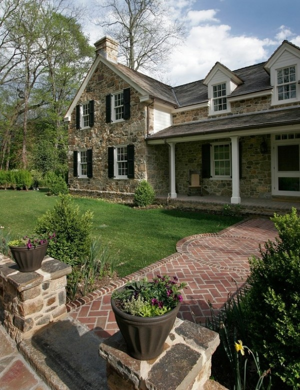 44 best stone farmhouse images on pinterest stone homes for American brick and stone