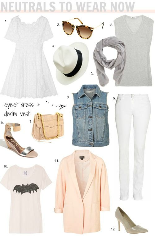 neutrals to wear now | a perfect packing list for a weekend away.
