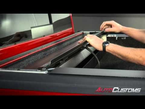 3rd Gen (2016+) Toyota Tacoma Tonneau Cover- Peragon Tonneau Cover Installation - YouTube