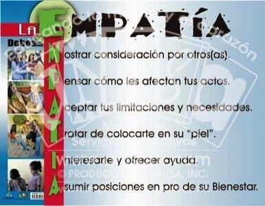 ¿QUÉ ES LA EMPATÍA?   http://juventudminca.blogspot.com.es/2014/05/la-empatia.html