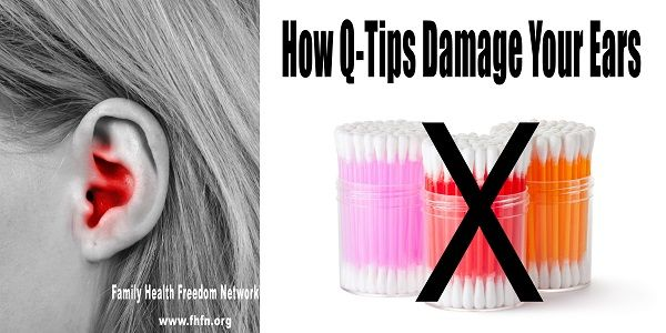 How Q-Tips Damage Your Ears :http://ehealthyfood.com/how-q-tips-damage-your-ears-2/