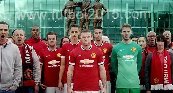 Camiseta Manchester United 2014 2015 Nike
