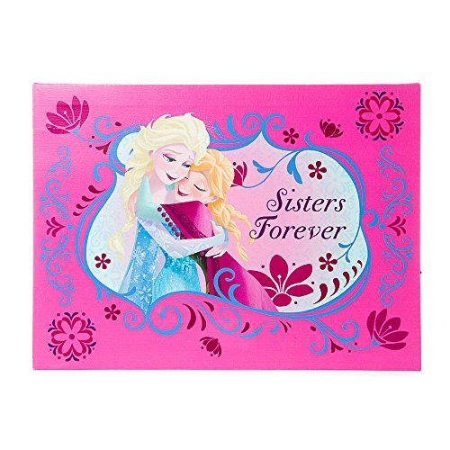 Claires Accessories Disney Frozen Sisters Forever LED Light Up Wall Canvas @ niftywarehouse.com #NiftyWarehouse #Frozen #FrozenMovie #Animated #Movies #Kids