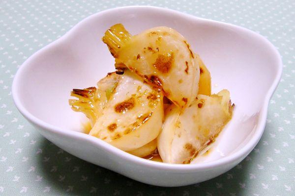 焼きかぶのマリネ~柚子こしょう風味~