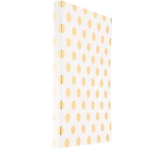 Kate Spade New York Spiral Notebook Gold Dots