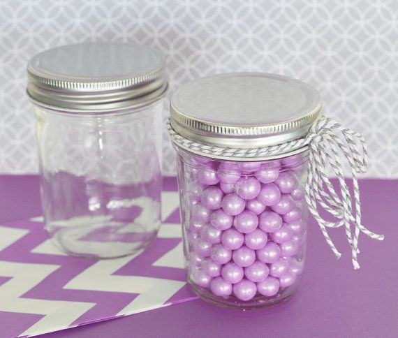 96 Mason Jars Wholesale Bulk with Lids  Little Mason by ModParty