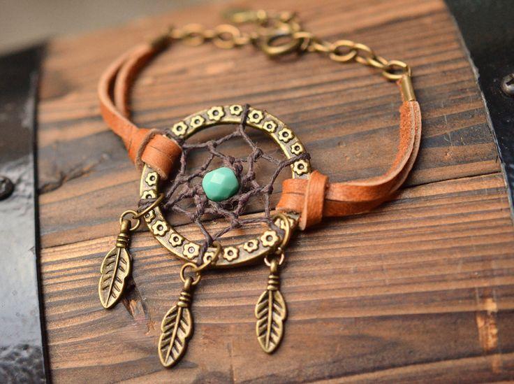 Daydream a Dreamcatcher Bracelet. $21.00, via Etsy.