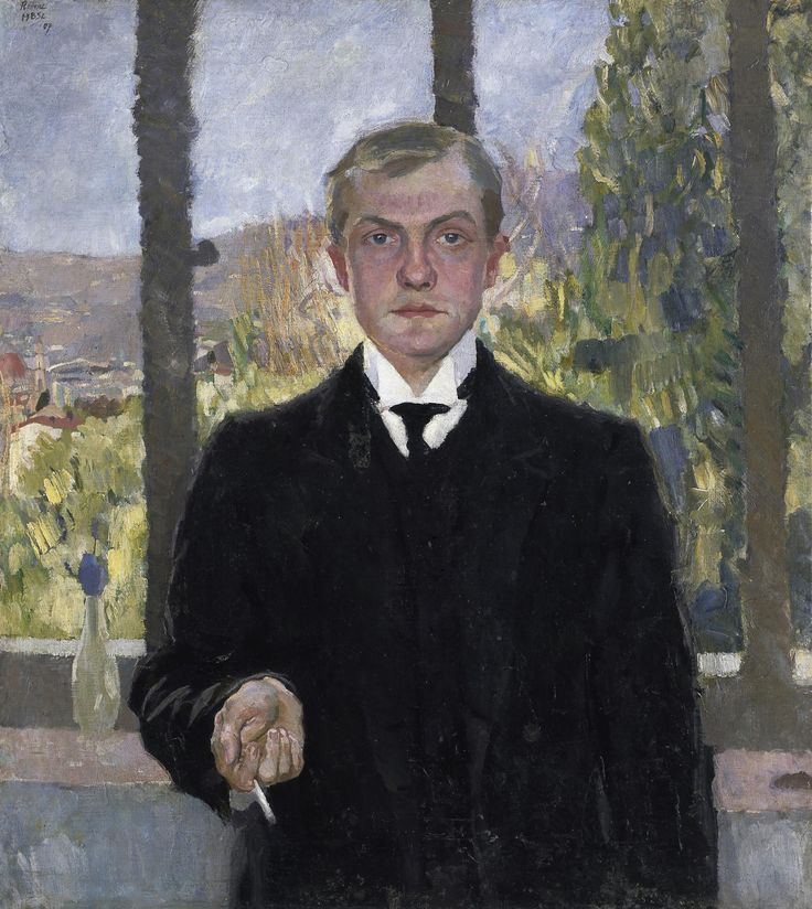 340 Max Beckmann (1884-1950, German)-Ideen   deutscher