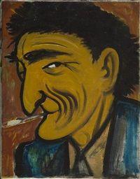 Man with a Cigarette by Tymon Niesiolowski