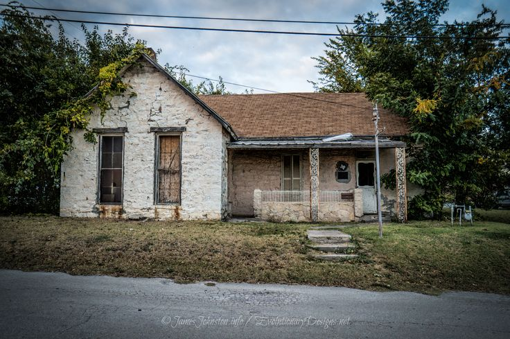 The Old Stone Prison in Decatur, Texas Abandoned houses