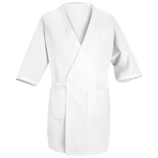 VF Image Wear | Butcher Wrap - 100% Polyester and Interior Pockets | Butcher Coats | Clemens Uniform | WS40