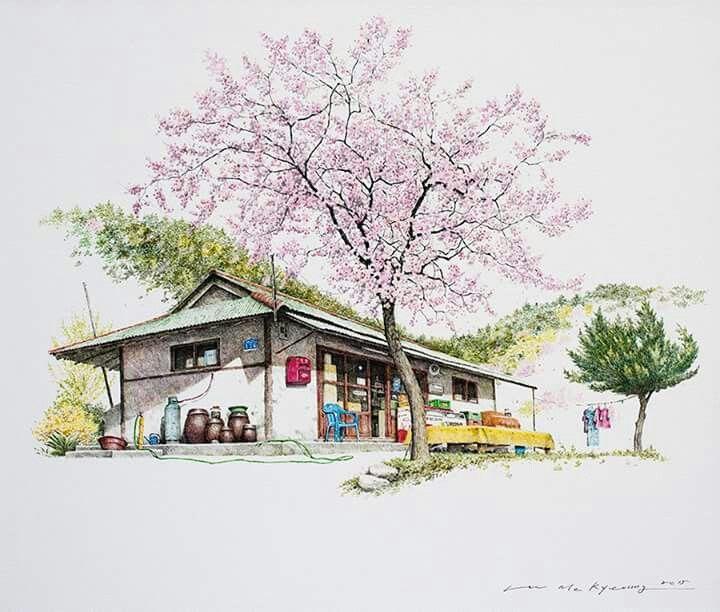 KOREAN ART ( 이미경 ) #art from #Korea