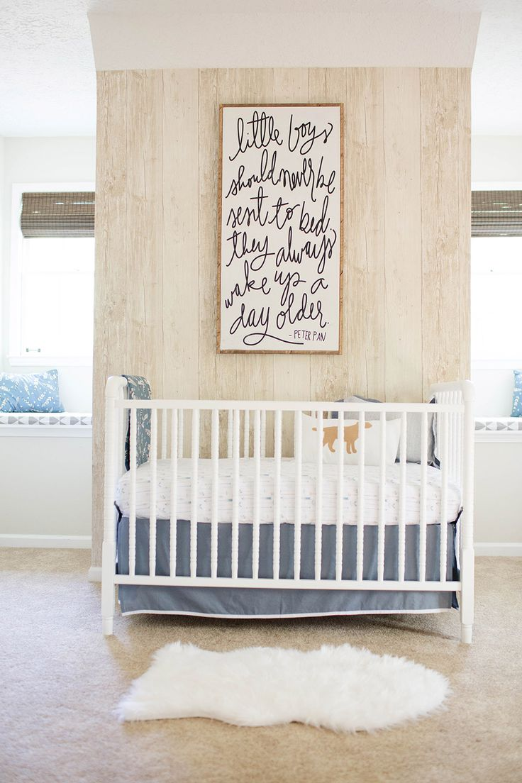 Baby boy room decor pinterest - 25 Soft And Rustic Baby Boy Nursery Ideas
