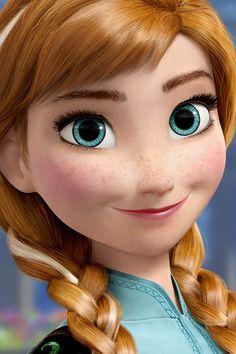 Anna from #Frozen