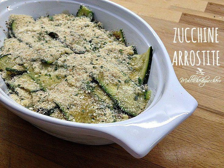 Zucchine arrostite ricetta veloce