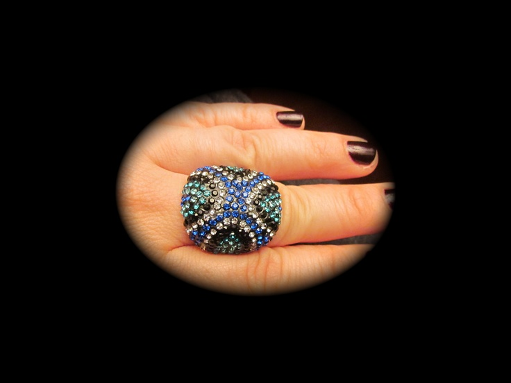 Blue Ring $20  Lucky One Jewelry FB page  Web-site coming soon