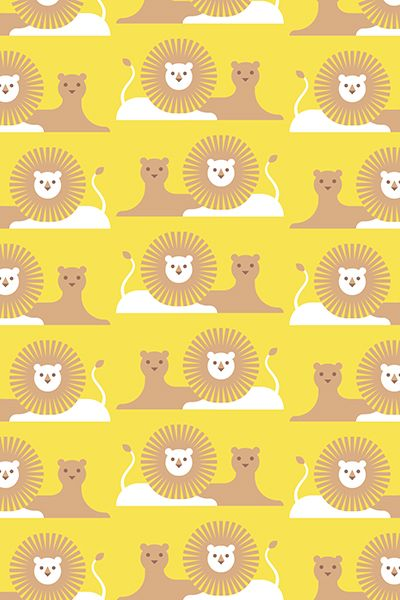 machimusume no handkerchief / lion / FROM GRAPHIC