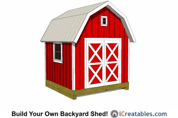 10 best images about 10x10 shed plans on pinterest for 10x10 shop door