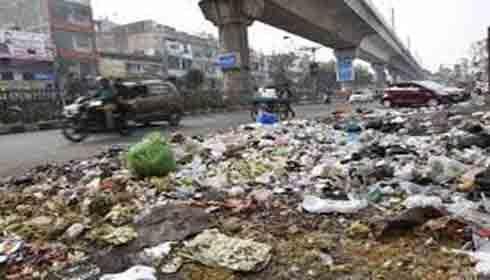 Sanitary Inspectors go on strike in East Delhi