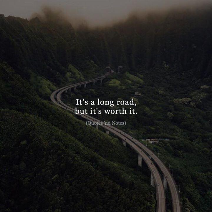 It's a long road but it's worth it. via (http://ift.tt/2gBu0UL)