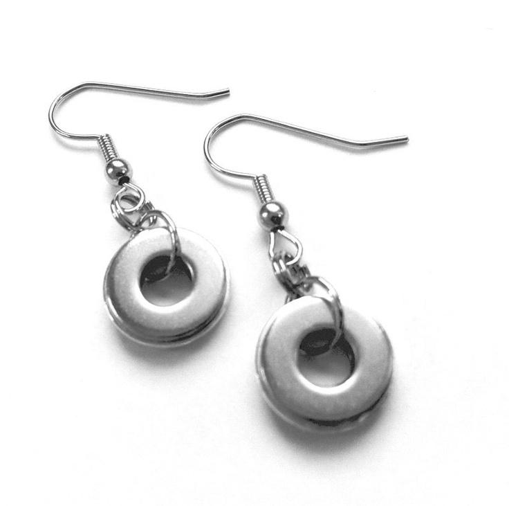 Stainless Steel Earrings from Loralyn DesignsSilver Earrings, Earrings Diy, Loralyn Design, Design Etsy, Steel Jewelry, Steel Earrings, Stainless Steel