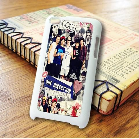 One Direction Cool Fantastic Collage iPod 4 Touch Case