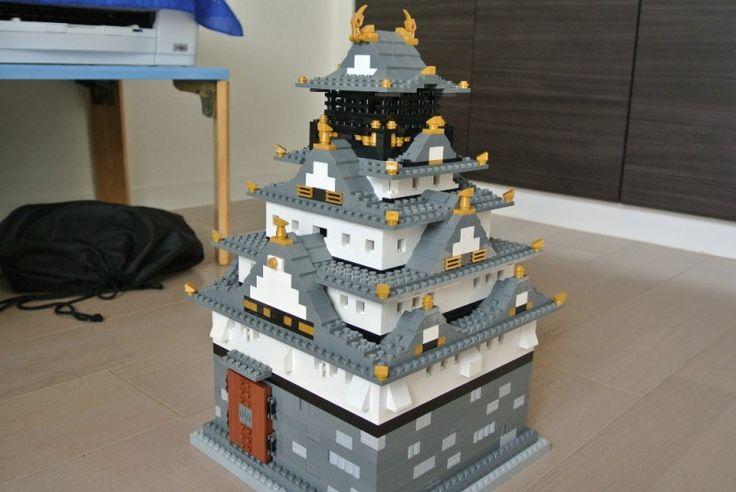 Castillos japoneses hechos de LEGO                                                                                                                                                                                 Más