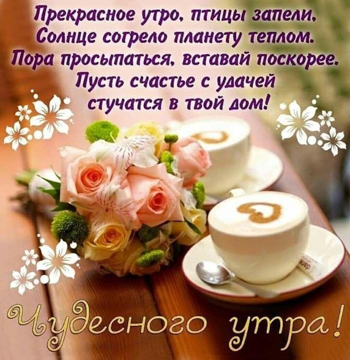 короткие пожелания доброго утра и хорошего дня вам