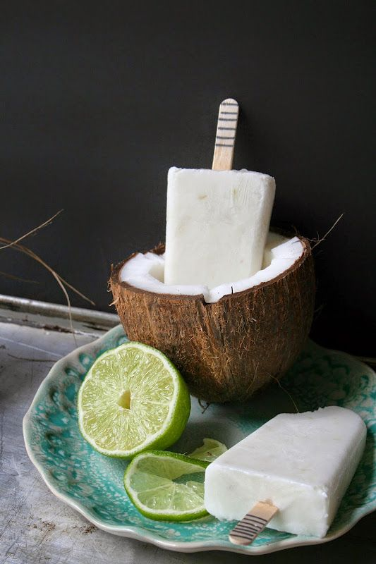 Put the Lime in the Coconut (Popsicle) | The Nifty Cupcake