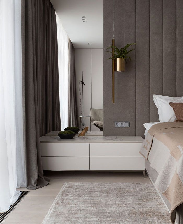 Design An Elegant Bedroom In 5 Easy Steps: Apartment Decor With Elegant Textures Of Light Wood And