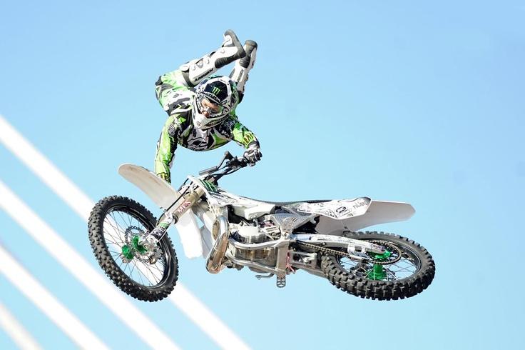 Stunt rider.