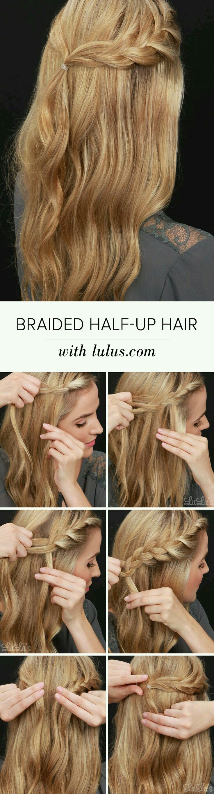 76 best Hair tutorials images on Pinterest
