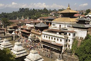 Nepal, tempio indù a Kathmandu