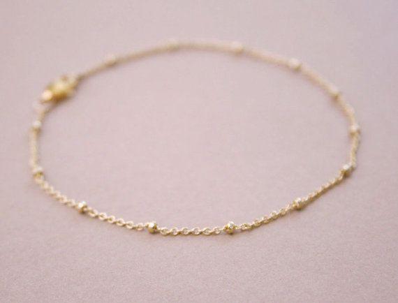 Satellite Layering Bracelet