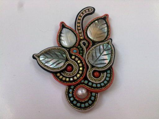 Broche NICARA | Ecomercadillo facilisimo.com, toda la artesanía y ecología a la venta