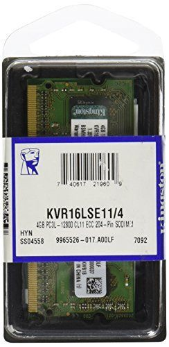 One 4GB module of 1600MHz DDR3L Memory * 204-pin Registered DIMM * From the industry leader in PC Memory * (Placed within the Amazon Associates program) * 07:31 Mar 11 2017
