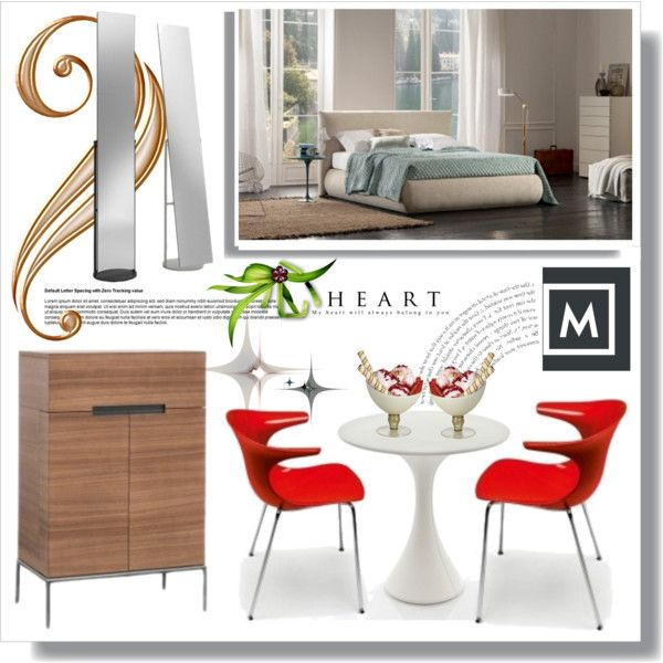 A home decor collage from June 2016 by danijela-3 featuring interior, interiors, interior design, home, home decor, interior decorating, Driade e bedroom