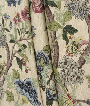 Richloom Whipporwill Tapestry Fabric : Image 3