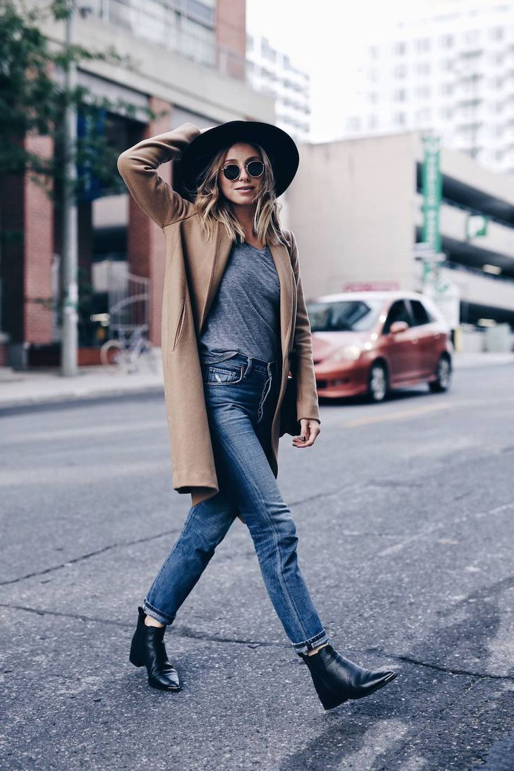 The August Diaries | Coat, Aritzia; Hat, Aritzia; Boots, Acne Studios; Bag, Celine