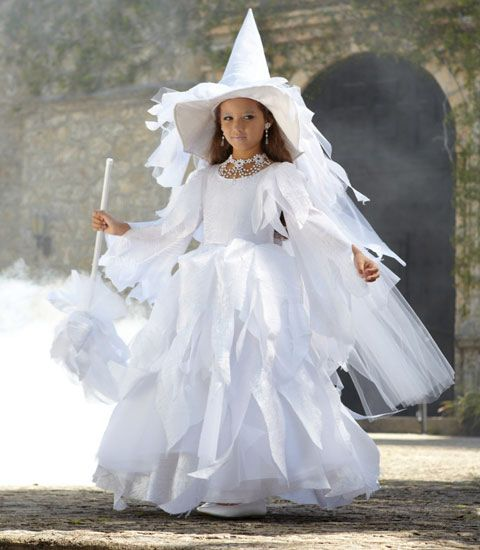 white witch girl costume - Chasing Fireflies