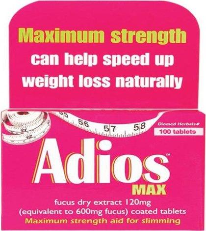 Adios Max Slimming Tablets | Natural Health and Weight ...